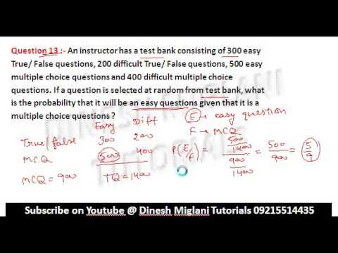 CONDITIONAL PROBABILITY CLASS 12 EX  13 1 PART 2 NCERT MATHS SOLUTIONS FOR  BOARD & IIT JEE