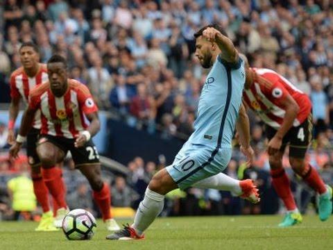 Premier League roundup Manchester City make winning start under Pep Guardiola; Leicester City stunne