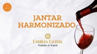 Jantar Harmonizado Vinícola Geisse