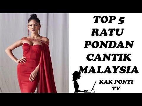 TOP 5 RATU PONDAN PALING JELITA DI MALAYSIA