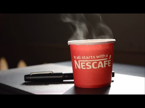 "Motivational Ads - ""Exam Motivation"" Advertisement : Nescafe"