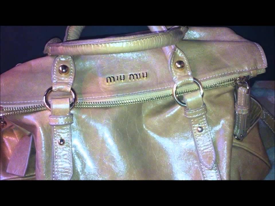 b2c81076cc26 MiuMiu Bow Bag - Review - YouTube