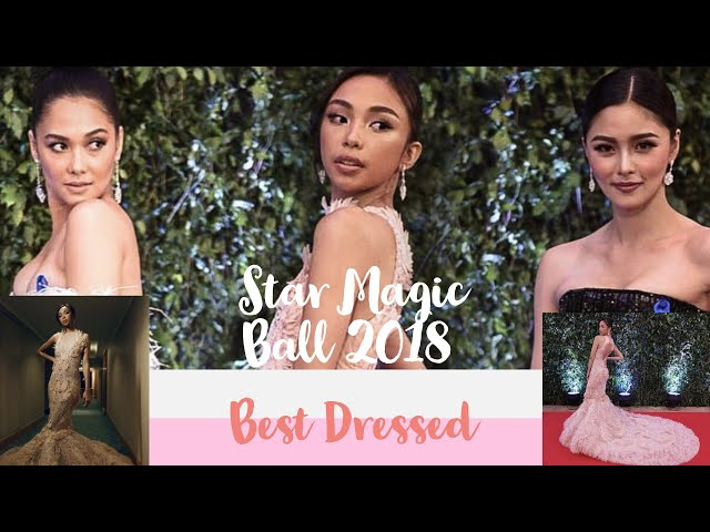 ABS CBN ball 2018 winners | best dressed | Maymay Entrata and Edward Barber