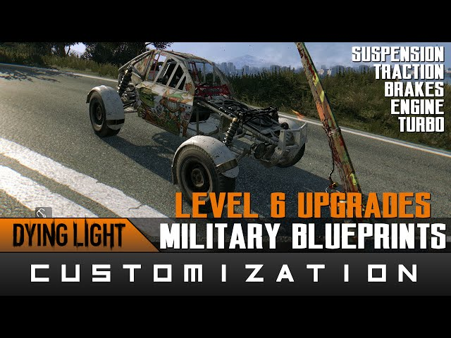 Dying light the following blueprints nhltv dying light best car parts upgrades experimental military blueprints locations guide malvernweather Choice Image