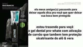 Resenha:Gel dental pro-active hinode