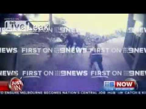 [FULL] Moments before Sydney supermarket explosion 09/10/2013