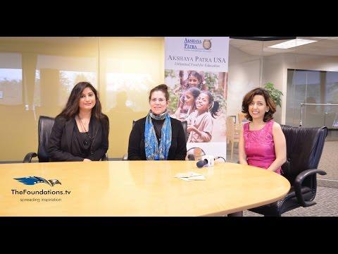 Akshay Patra USA team speaks to The Foundations TV