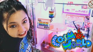 She's trying to be the Bestest at Cosmo World Arcade!