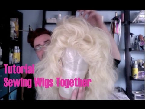 Tutorial - Splicing And Sewing Wigs Together