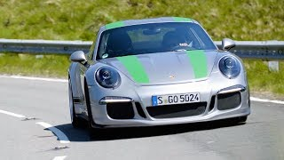 Porsche 911R vs Peugeot 205 Rallye - Chris Harris Drives - Top Gear