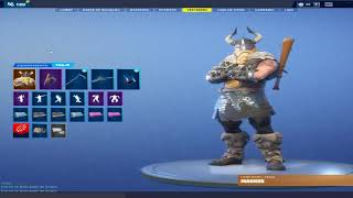 Change Fortnite account + 100 Skins by GiftCard