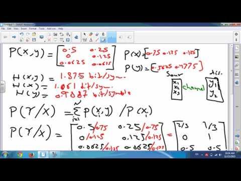 د. حسام العبيدي information theory 4