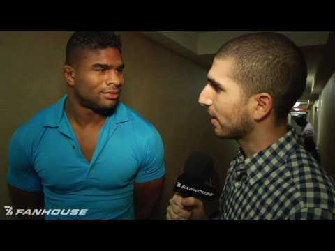 Alistair Overeem Doesn't Have Time for the Critics