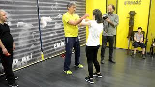 Emin Boztepe Chi Sao Training 02 - Wing Chun Girl Sena
