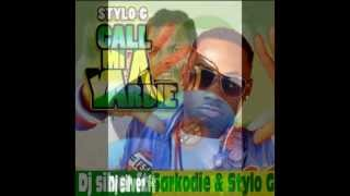 Dj Silver (Rmx exclusive)  ft Sarkodie & Stylo G Call mi A yardie