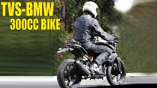 TVS-BMW 300cc Bike For India Spotted Testing First Time
