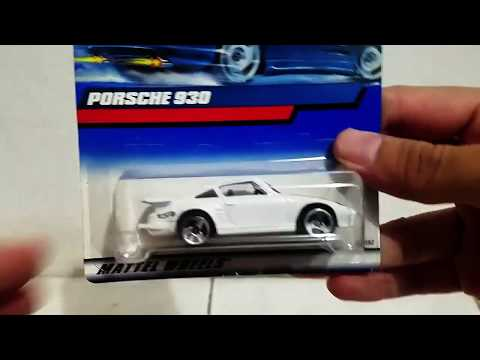 Review Hot Wheels Porsche 930 White | Scaretoys