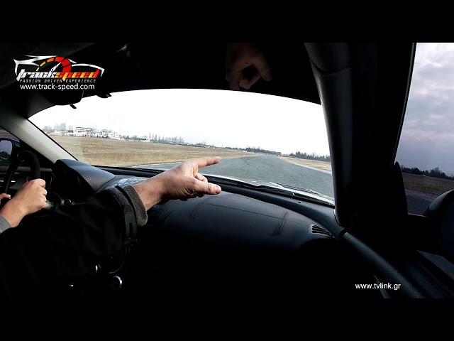 John runs our RX8 on a coaching session ,serres circuit, trackspeed.com