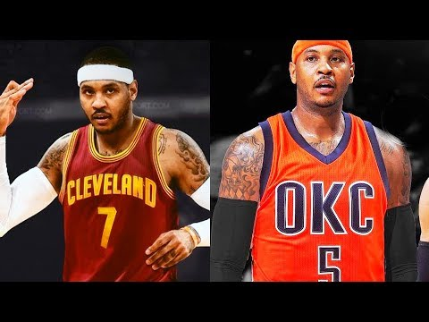 Carmelo Anthony adds Cavaliers and OKC Thunder to List of Teams He