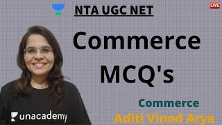 Commerce MCQ 39 s III NTA UGC NET JUNE 2020 Aditi Vinod Arya