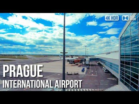Prague International Airport, Vaclav Havel - 🇨🇿 Czech Republic - 4K Virtual Tour