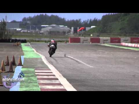 Motorcycle Racing At Southside Track, Sept 16 2012