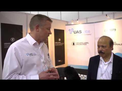 UAS Labs - Private Label Probiotics at CPhI India 2013