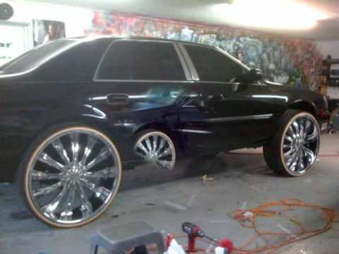1st Nu Skool Cadillac Deville On 28s Youtube
