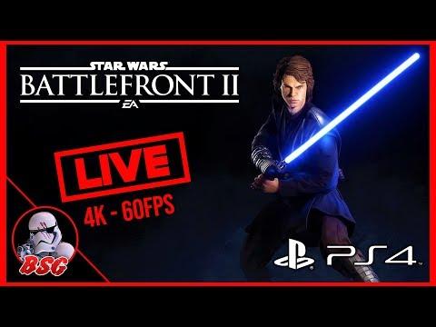 Single Platform Saturday! (PS4) Star Wars Battlefront 2 Gameplay | 4K Live Stream (4K 60FPS) thumbnail