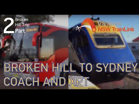 Broken Hill to