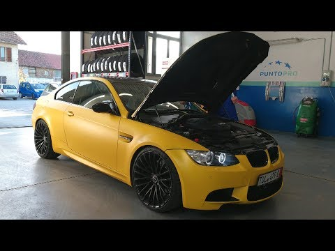 Giving a Little Treat to my M3! (Sub ENG)