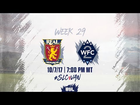 USL LIVE - Real Monarchs SLC vs Vancouver Whitecaps FC 2 10/7/17