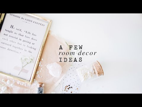 a few room decor ideas