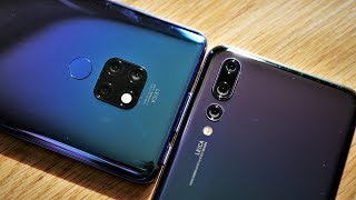 Huawei Mate 20 vs P20 Pro / Camera Comparison