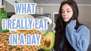 WHAT I REALLY EAT IN A DAY  🍽  FEATURING CHEF STEPH