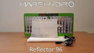 unboxing Mars Hydro Reflector 96