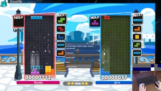 Wumbo vs ali-m (Kazu) A-Class Puyo Puyo Tetris League (PC)