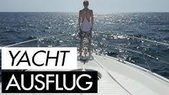 Yacht Ausflug mit Micaela Schäfer & Aische Pervers
