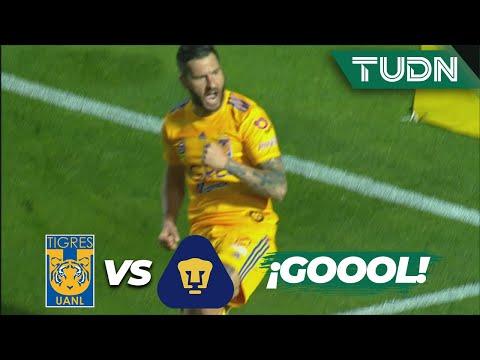 ¡De otra galaxia! Golazo de Gignac | Tigres 3 - 0 Pumas | Liga Mx CL 2020 - J8 | TUDN