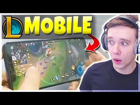 League of Legends On Your PHONE Revealed!!! Riot's Next Game (LEAKED?)