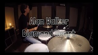 DIAMOND HEART - Alan Walker - Melvin van Herk + SPD-SX!