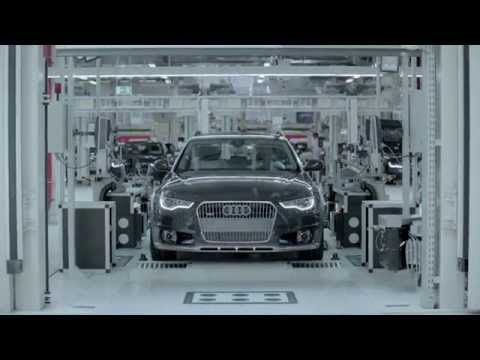 Audi - Neckarsulm production plant | AutoMotoTV