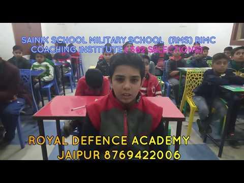sainik school coaching military school online coaching in jaipur RIMC Allahabad Jhansi Mainpuri Agra from YouTube · Duration:  47 seconds