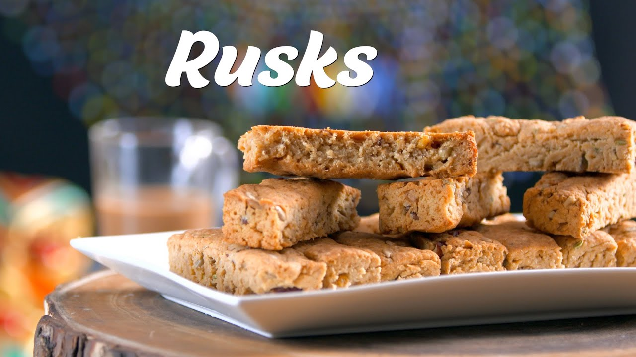 South African Rusk Recipe | Homemade Rusk Recipe | South African Recipes By Megha Joshi