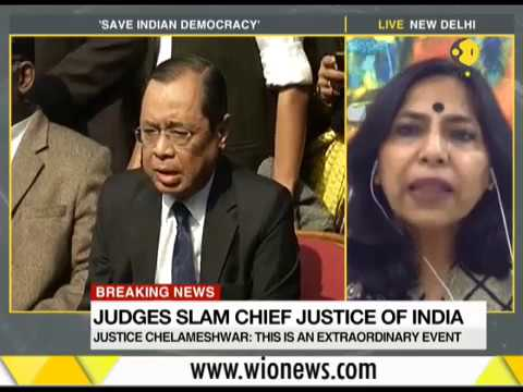 Breaking News: Indian Supreme Court judges brief media