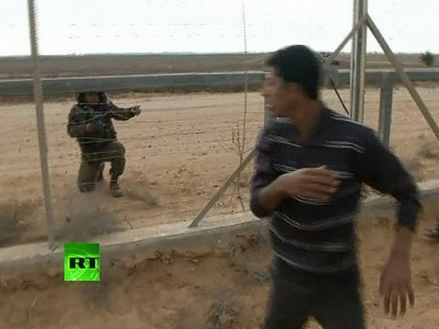 Video: Scene of Gaza-Israel border shooting after IDF kills