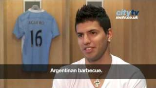 Sergio Aguero signs for Man City in record breaking deal with Atletico Madrid