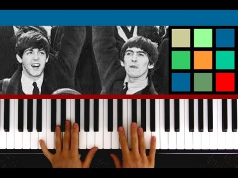 "How To Play ""Blackbird"" Piano Tutorial (The Beatles)"