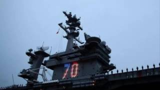 china military says aware of u s carrier in south china sea