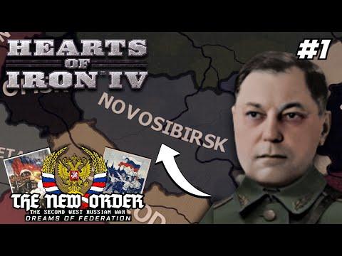 Welcome To Novosibirsk! Hoi4 - TNO: Second West Russian War, Novosibirsk (Shushkin) #1